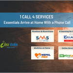 One Call Four Services: Essentials Arrive at Home With a Phone Call