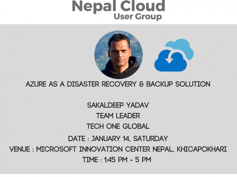 Nepal Cloud User Group