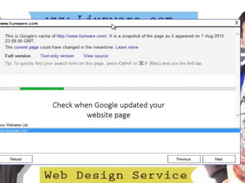 How to check google index