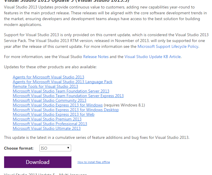 How to  download Visual Studio