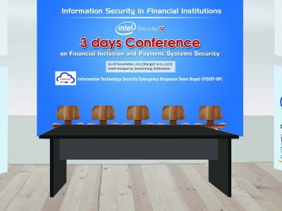A 3 days conference of payment system security