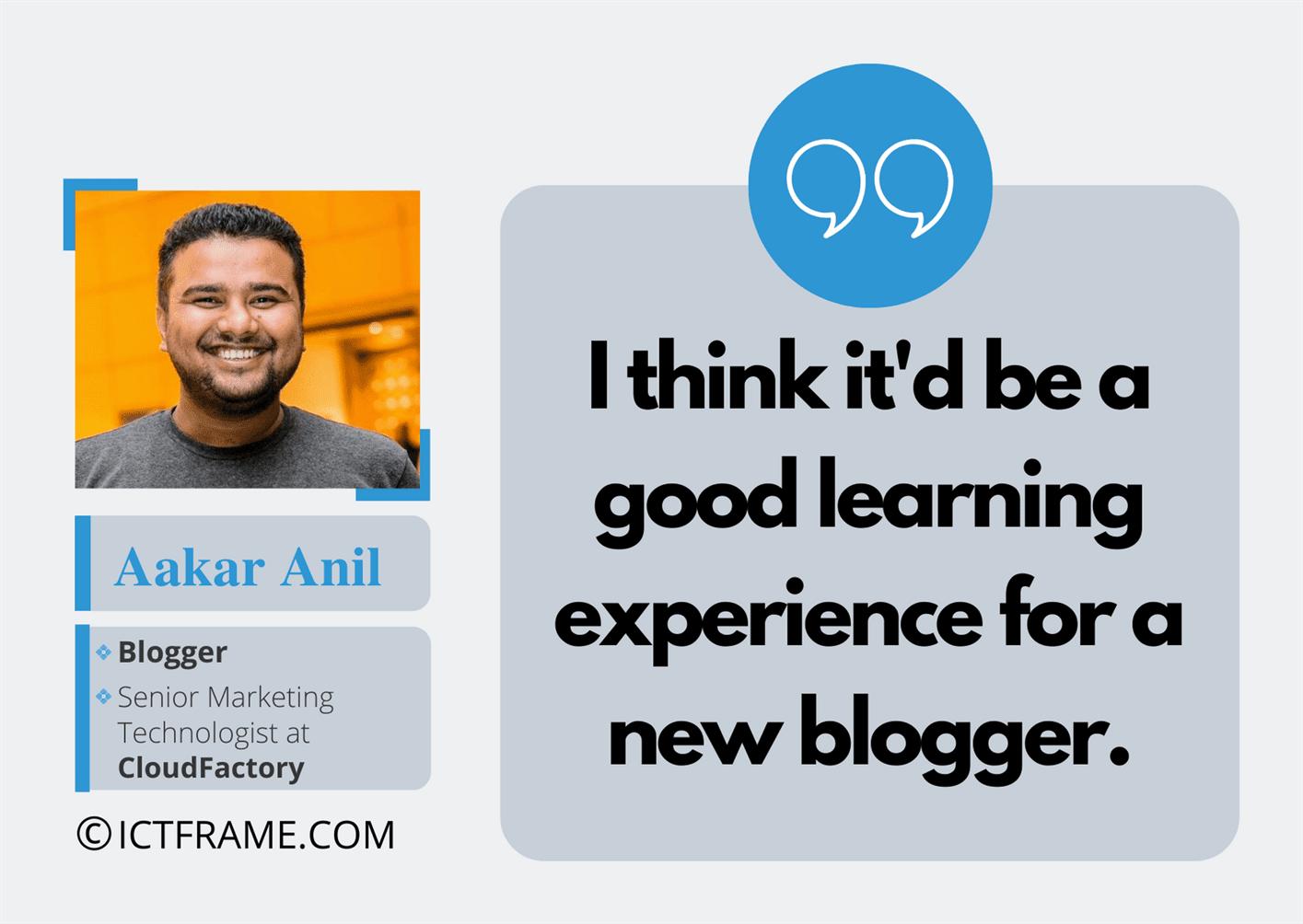 Nepali Blogger Aakar Anil