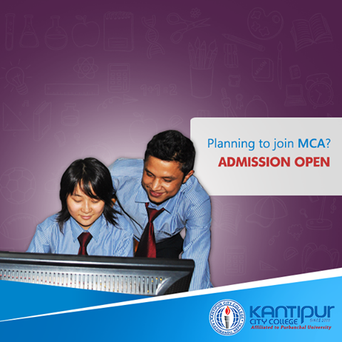 Admission open MCA