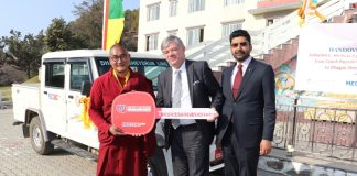 "15 February 2020, Kathmandu Czech Republic Development Cooperation has handed over an ambulance, medical equipment, an operational vehicle to DhagpoSheydrub Ling Foundation, in Nala, Kavre. His Excellency Mr. Milan Hovorka, Ambassador of the Czech Republic to Nepal, officially handed over the keys of the Vehicles to the representatives of foundation on 14th February Friday at NalaGumba, Bhaktapur. The ambulance is fitted with advanced machinery and equipment that can be used in case of emergency. The medical equipment includes a spine board with fixators, vacuum mattress, Oximeter, 4 lines, Transport Stretchers, surgical sets, examination bed, chairs, privacy booths, Oxygen cylinders, & others. H.E. Milan Hovorka said, ""We are happy to fulfill the need of ambulance in this region. We hope that this ambulance will help local people to reach the hospital on time. This will also help further to strengthen the friendship between Nepal & the Czech Republic and people."" A representative of the DhagpoSheydrub Ling Foundation, LekshayGhale, expressed gratitude to the People of the Czech Republic, Czech Republic Development Cooperation, and MEDEVAC for assistance & partnership. ""Ambulance & medical equipment will be used to transfer sick students of Gumba and also local people,"" he said. The NalaGumba is located about 20 kilometers away from the leading referral hospitals in Kathmandu and Dhulikhel. It would take more than two hours to reach hospitals in local transportation in case of a medical emergency. The government of the Czech Republic expects that this new ambulance would facilitate and expedite the transportation of sick people to advanced hospitals, thus saving time and reducing the risk on the lives of local people. Czech Republic's assistance to this project indicates its commitment to the improvement of the living standards & welfare of Nepalese people. This project has been designed to address basic human needs that include education, health and sanitation, and drinking water."