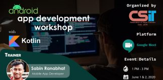 Android App Development Workshop with Kotlin
