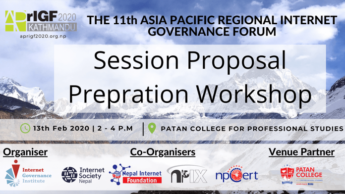 APrIGF 2020 Session Proposal Preparation Workshop