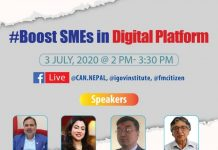 Boost SMEs In Digital Platform in Nepal