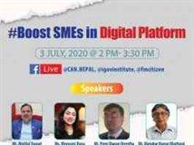 Boost SMEs In Digital Platform in Nepal