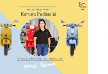 Branding Head of Vespa