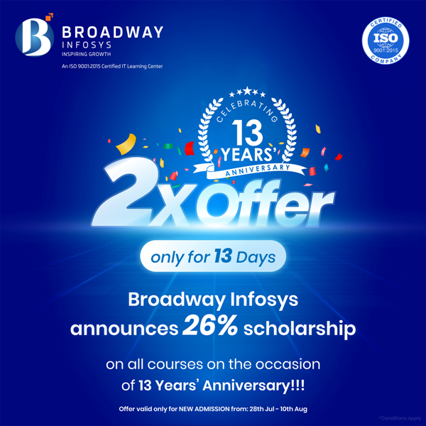 Broadway Infosys Offer
