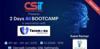 CSIT ASSOCIATION OF NEPAL PRESENTS AI BOOTCAMP