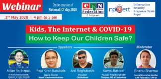 Bharatpur To Host Webinar On Kids The Internet and Covid-19