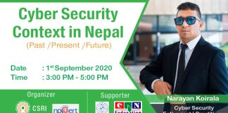 Information Security Context Nepal