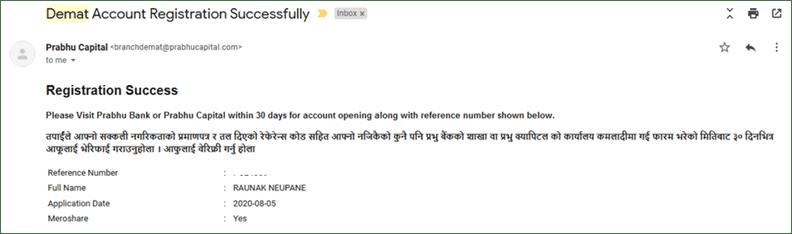 DMAT Account Registration