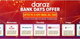 Daraz Bank Days Offer
