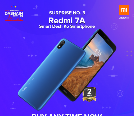 Dashain With Redmi 7A in Nepal