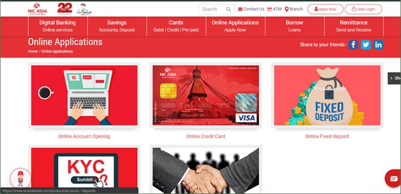 Online Banking In Nepal