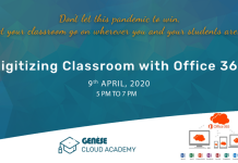 Search Results Web results Digitizing Classroom with Office 365 at Genese Cloud Academy