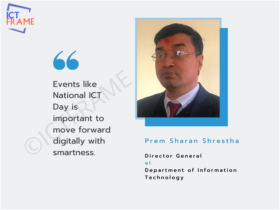 Interview with Prem Sharan Shrestha - Director General at Department of Information Technology