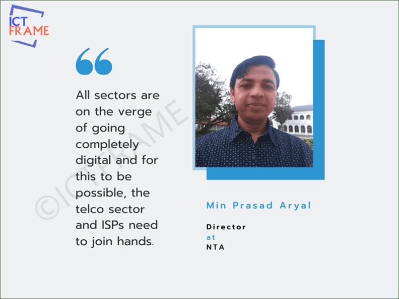 Min Prasad Aryal - Director, Nepal Telecommunications Authority (NTA)