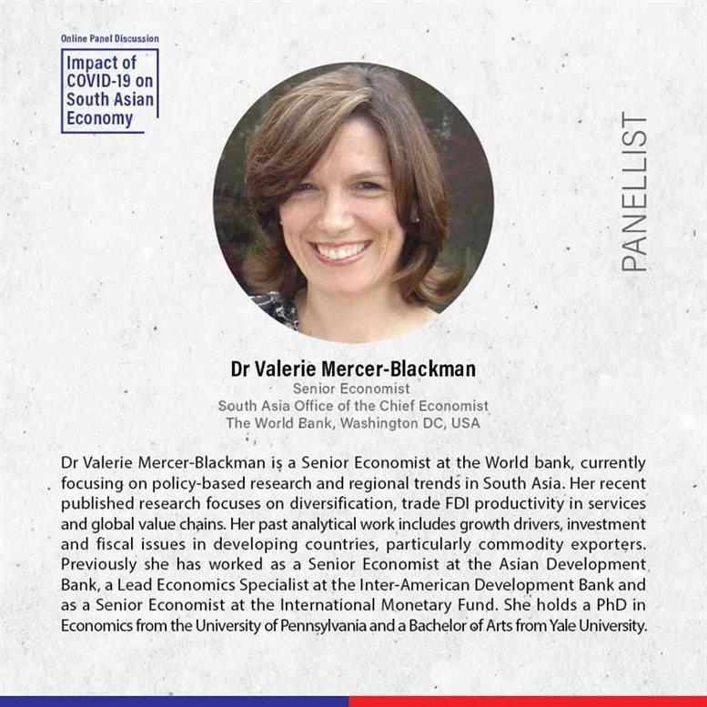 Dr Valerie Mercer-Blackman