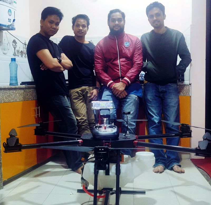 Drone Manufacturer in Nepal Team