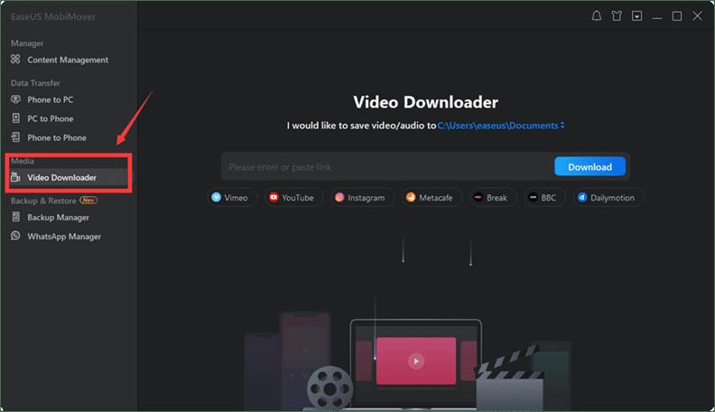EaseUS Video Downloader