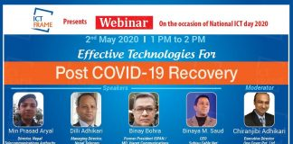 Effective Information Technology In Nepal For Post Covid-19 Recovery