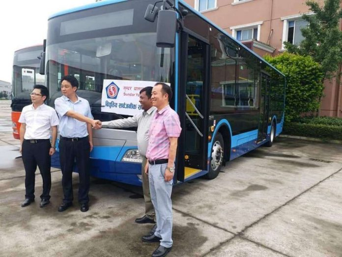Electric Buses in Nepal