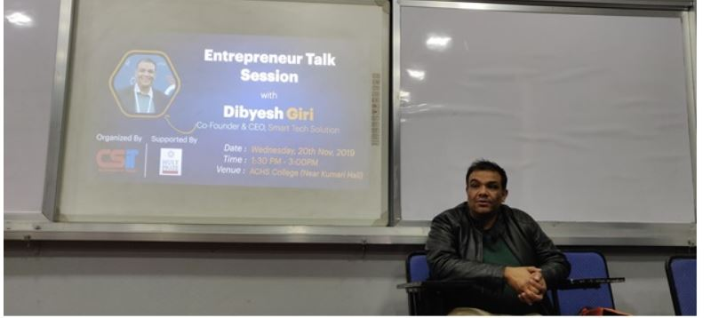 Entrepreneur Talk Session with Dibyesh Giri