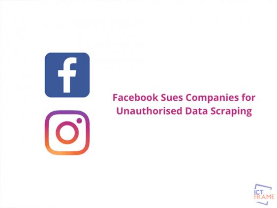 Facebook sues 2 companies
