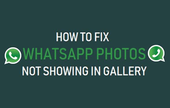 Fix WhatsApp Photos