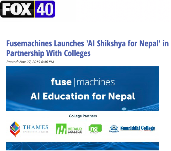 Fusemachines Nepal Launches AI Shikshya For Nepal