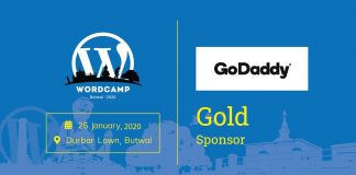 GOLD sponsor of WordCamp Butwal 2020