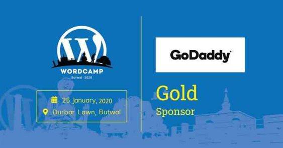 GOLD sponsor of WordCamp Butwal 2020