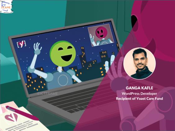 Ganga Kafle is Awarded from Yoast Care Fund