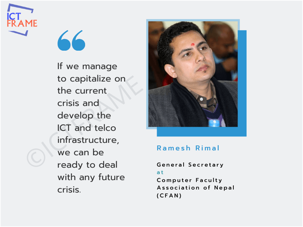 Interview With Ramesh Rimal, General Secretary at CFAN