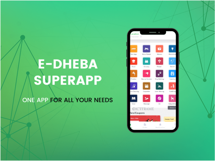 e-dheba SuperApp Launches Grocery Ordering Service