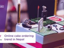 Growing trend of online cake ordering service in Nepal