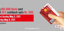 Gyapu with NIC ASIA Card
