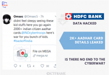 Nepali Hacker Claims to Have Hacked HDFC Bank