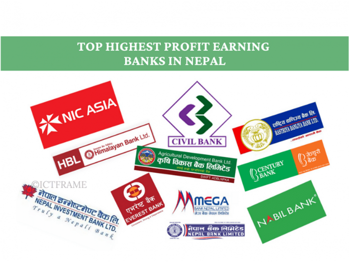 Highest Profit Earning Banks in Nepal