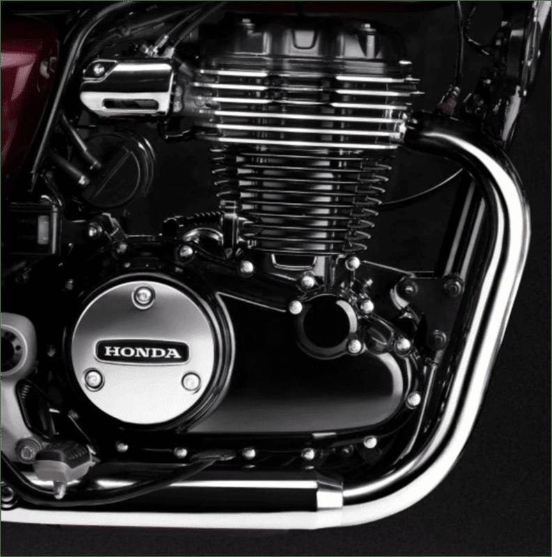 Honda Highness CB350 Engine