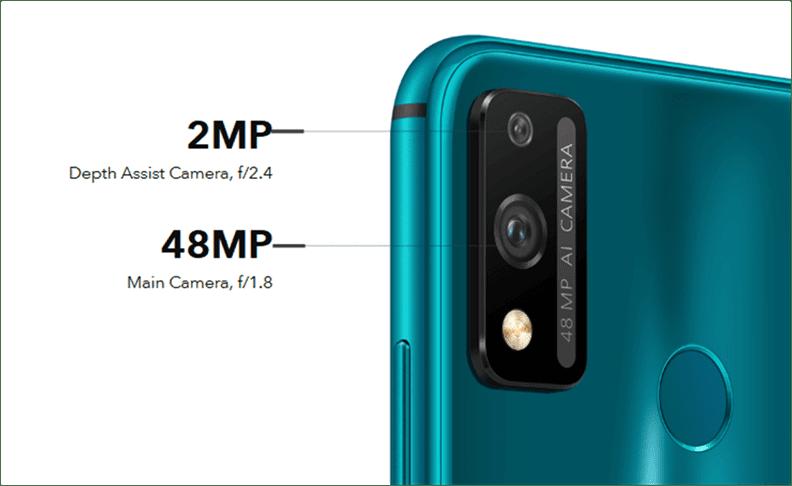Honor 9X Lite Cameras