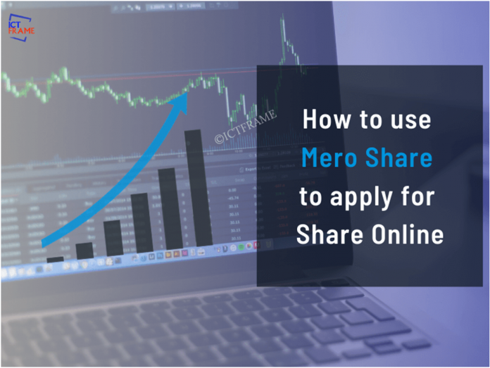 How To Use Mero Share To Apply For Share Online