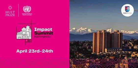 Hult Prize Impact Summit Kathmandu