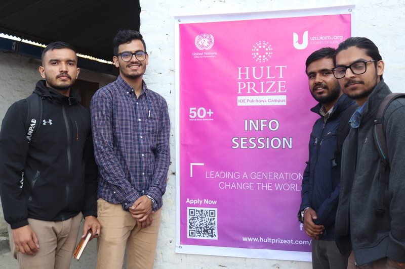 Hult Prize at IOE Pulchowk Campus successfully organized