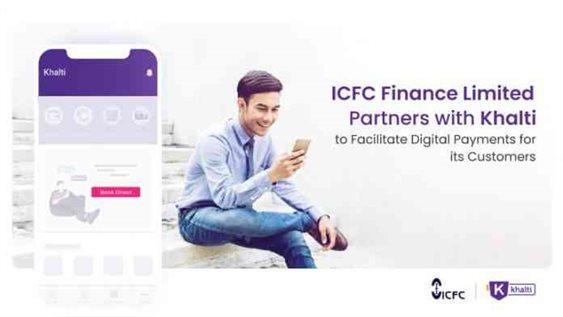 ICFC finance partners with Khalti