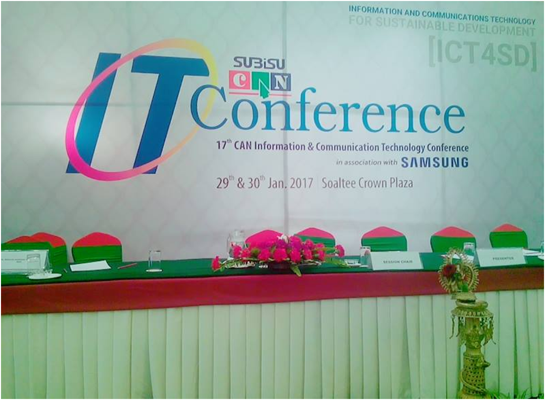 ICT CONFERENCE 2017