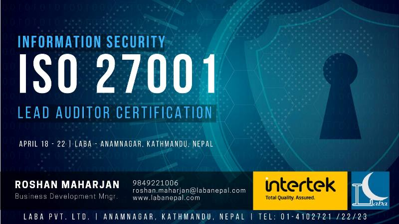 ISO 27001 Lead Auditor Certification – A Guide for becoming Lead Auditor